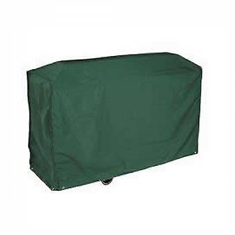 Caraselle Deluxe Dark Green Bosmere Wagon BBQ Cover 124x91x61cm