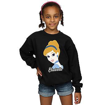 Disney princesa Cenicienta de chicas silueta sudadera