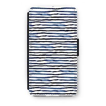 Samsung Galaxy S6 Edge Flip Case - verrassende lijnen