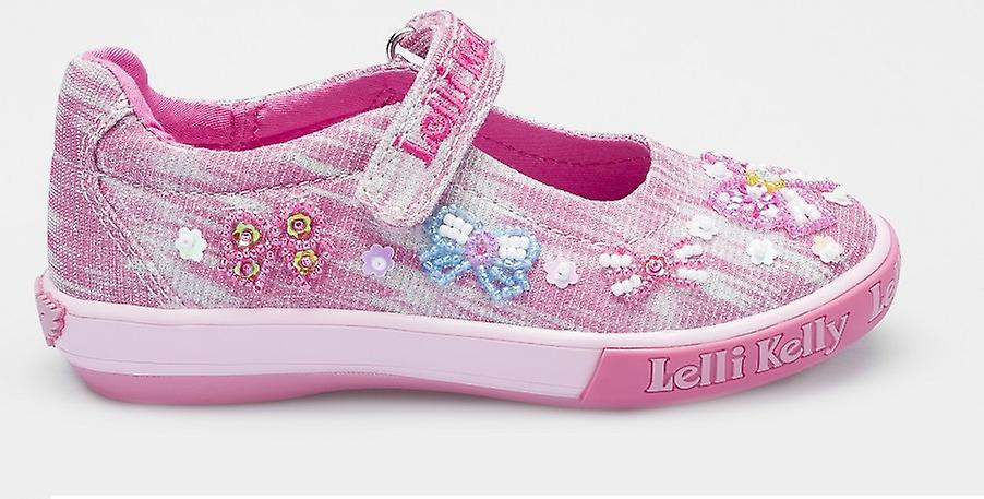 Lelli Kelly Bow Shiny LK5066 rose toile chaussures