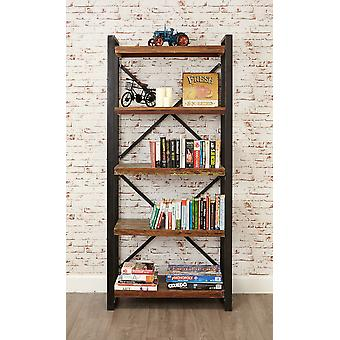 Urban Chic Large Open Bookcase Brown - Baumhaus