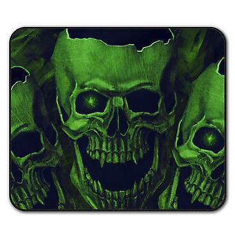Skull Head Scream  Non-Slip Mouse Mat Pad 24cm x 20cm | Wellcoda