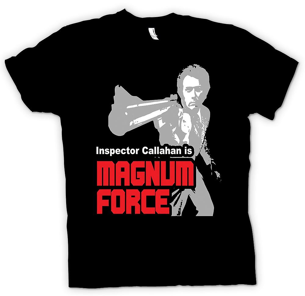 Mens T-shirt - Dirty Harry Magnum Force - Movie