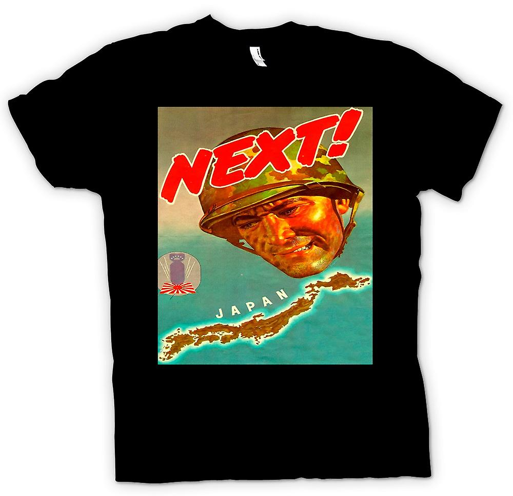 Mens T-shirt - Japan Next - War Poster T Shirt