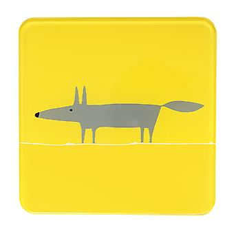 Scion Mr Fox Yellow Pot Stand
