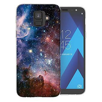 Samsung A6 (2018) blaue Konstellation TPU Gel Fall