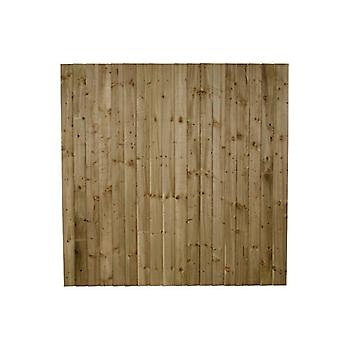 Forest Garden 4ft Pressure Treated Featheredge Fence Panel