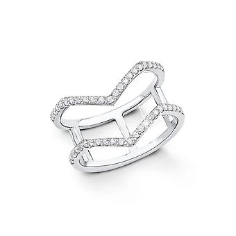 s.Oliver jewel ladies ring silver cubic zirconia silver SO1330