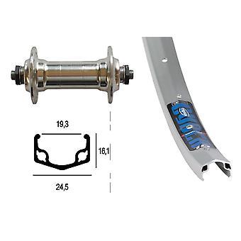 Bike parts 26″ wheel Rigida Cyber 10 + standard aluminium hub (QR)