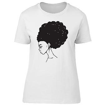 Afrohair Woman Tee Women's -Image by Shutterstock