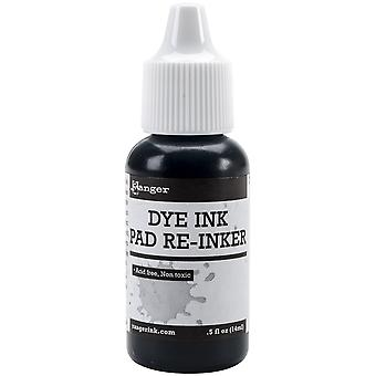 Ranger Dye Ink Re-Inker .5oz-Blue Ribbon