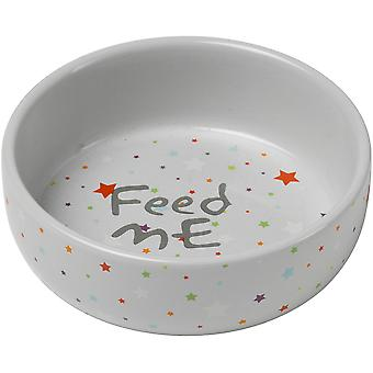 Petface Puppy Ceramic Dog Bowl 5.1