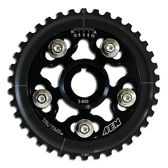 AEM 23-800BK Black Tru-Time Adjustable Cam Gear
