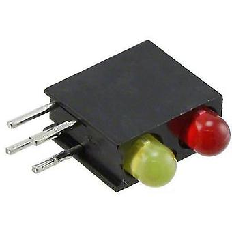 LED component Red, Yellow (L x W x H) 13.33 x 11 x 4.32 mm Dialight 553-0213 F