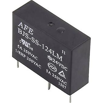AFE BJS-SS-112LM PCB relay 12 Vdc 5 A 1 maker 1 pc(s)