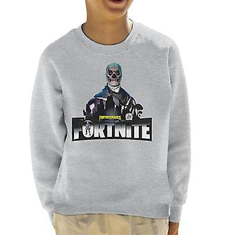 Fortnite Nitemare Skin Skeleton Kid's Sweatshirt