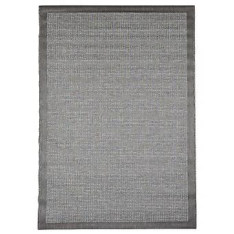 Outdoor carpet for Terrace / balcony grey Essentials chrome grey 135 / 190 cm carpet indoor / outdoor - for indoors and outdoors