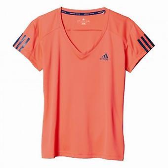 Adidas tennisclub T-Shirt dames rood