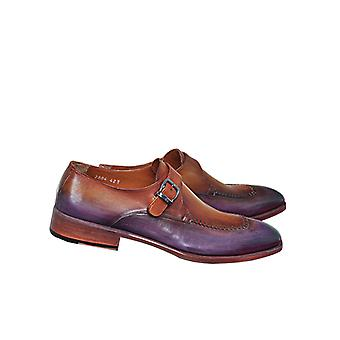 Handcrafted Premium Leather Berto Monk Shoe