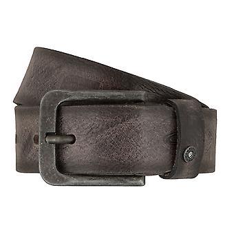 Cinturones de hombre cinturones activos Camel de cuero jeans cinturón gris 7402