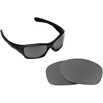 PIT BULL Asian Replacement Lenses Polarized Black Iridium by SEEK fits OAKLEY