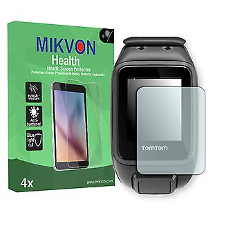 TomTom Runner 2 Screen Protector - Mikvon Health (Retail Package with accessories)