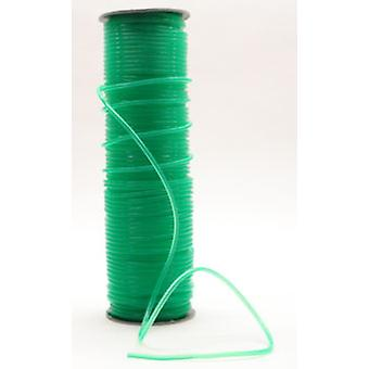 100 mtr. Springtouw green transp. 4mm op