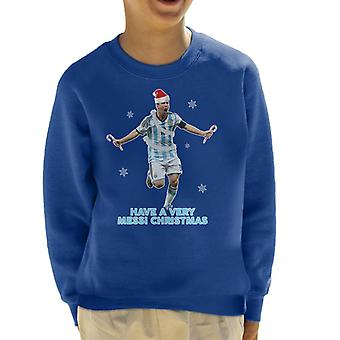 Have A Very Messi Christmas Kid's Sweatshirt
