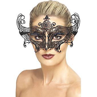 Smiffy's Farfalla Metal Filigree Eyemask