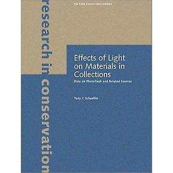 Effets de la lumière sur les matériaux dans les Collections - données sur les éclairs et