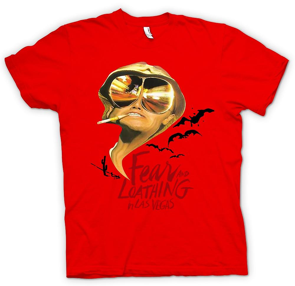 Mens T-shirt - Fear And Loathing Bats - Funny