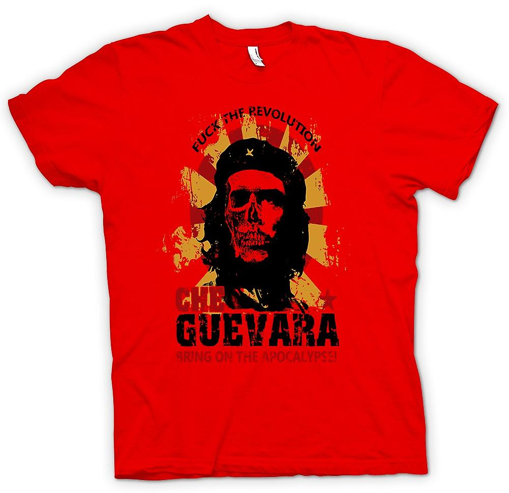 Mens T-shirt - Che-Guevara - Apokalypse - Kommunismus