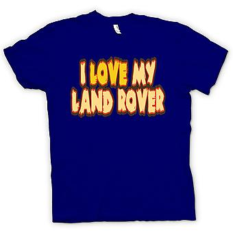 Kids T-shirt - I Love My Land Rover - Car Enthusiast
