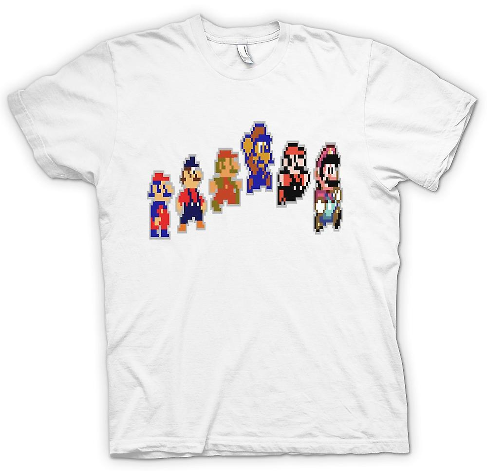Mens T-shirt - Super Mario - Pixel Gamer