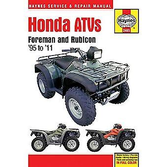 Honda Foreman ATV Service and Repair Manual (Haynes Service & Repair Manual)
