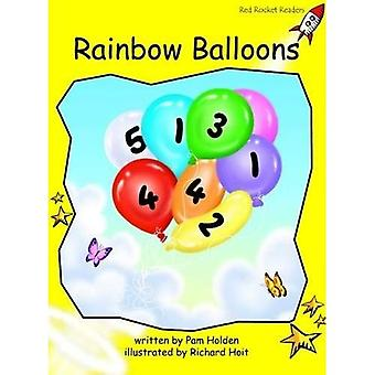 Rainbow Balloons: Level 2: Early (Red Rocket Readers: Fiction Set A)