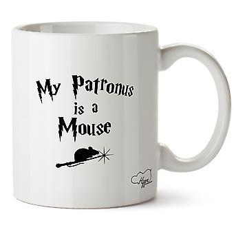 Hippowarehouse My Patronus Is A Mouse 10oz Mug Cup