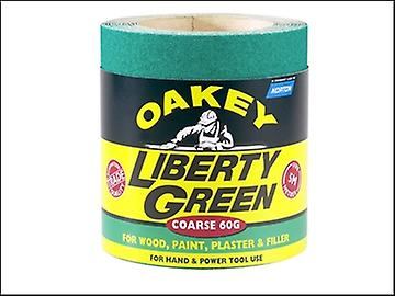 Oakey Liberty Green Roll 115mm x 5m Fine 120g