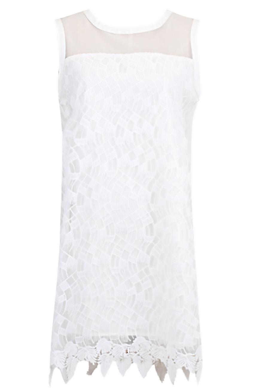 Little summer dress lining lace pattern Cléo