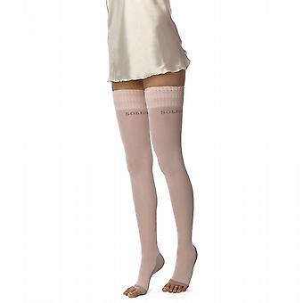 Solidea Night Wellness FIR Sleep Support Stockings [Style 50470] Rosa (Pale Pink)  L