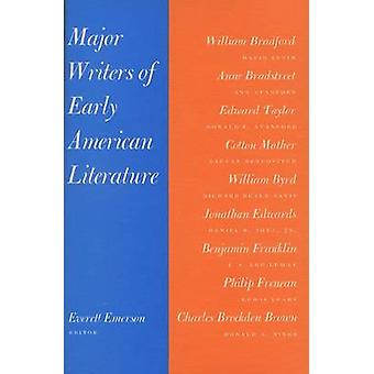 Major Writers of Early American Literature (New edition) by Everett M