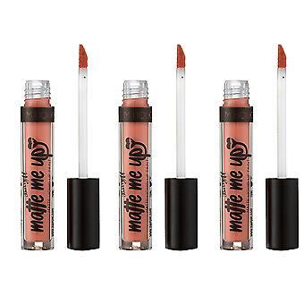 Barry M 3 X Barry M Matte Me Up Liquid Lip Paint - Minimalist