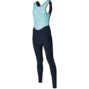 Santini Aqua Blue 2018 Fashion Coral Womens Bib Pants