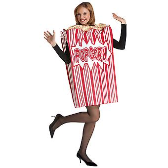 Movie Night Popcorn Food Junkfood Funny Dress Up Women Men Costume