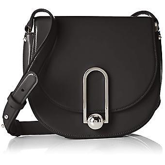 HUGO Uptown Saddle Bag - Black 001) 7x18x21.5cm (B x H T)