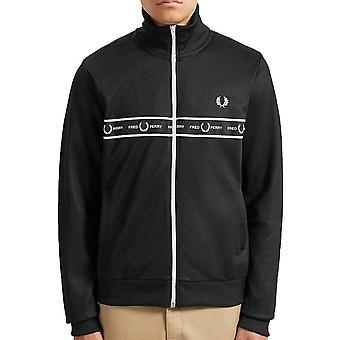 Fred Perry Taped Chest Track Jacket   J7501