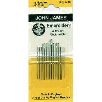 Crewel Embroidery Hand Needles Size 5 10 16 Pkg Jj135 50