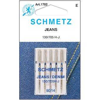 Jean & Denim Machine Needles Size 14 90 5 Pkg 1782