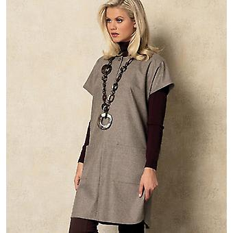 Misses' Tunic  L  Xl  Xxl Pattern V8924  Zz0