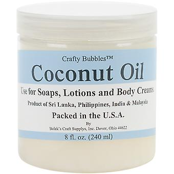 Coconut Oil 8oz-  CB66